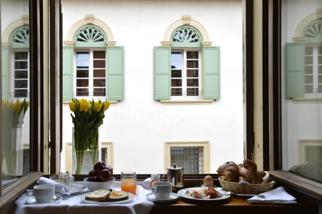Breakfast hotel Armando Verona