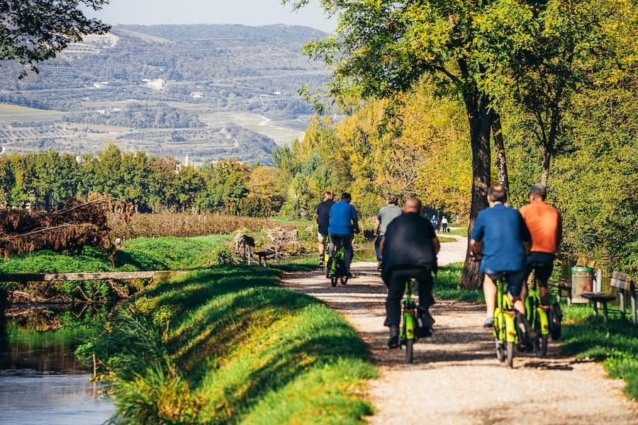 Tour in e-bike dell'Amarone