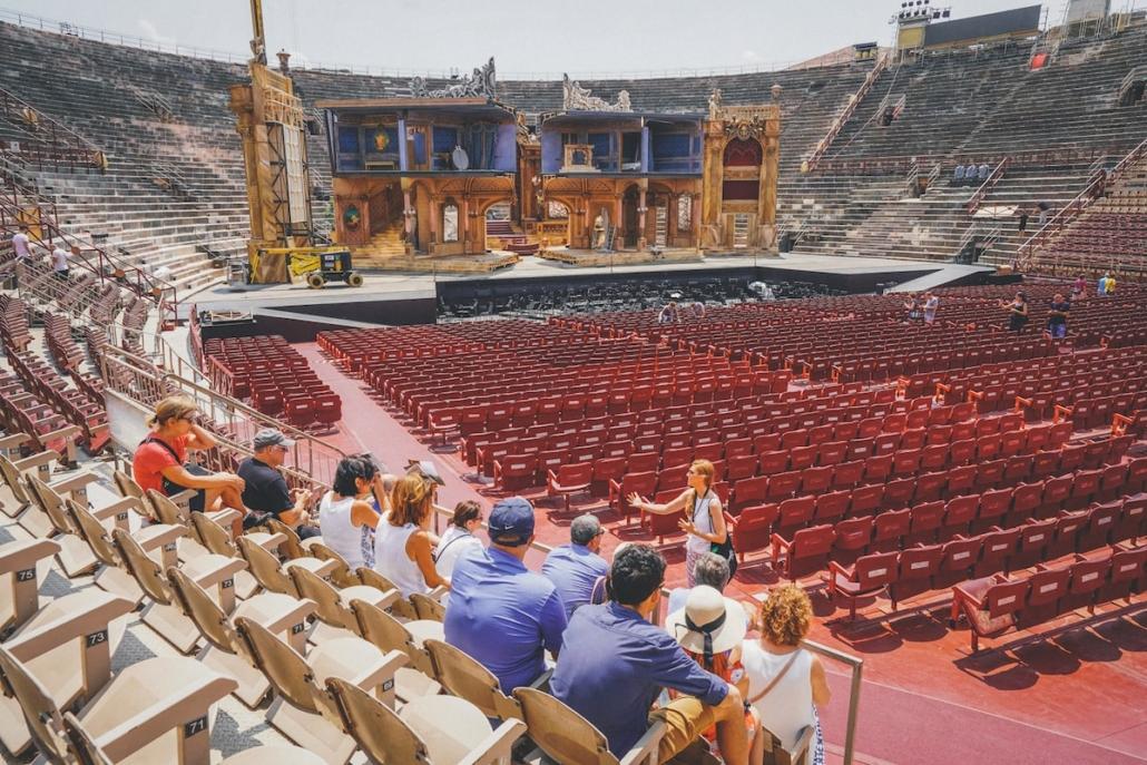 Tour guidato dell'Arena di Verona