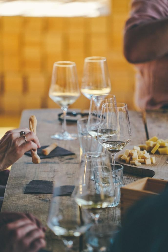 Degustazione sensoriale di Amarone e vini locali