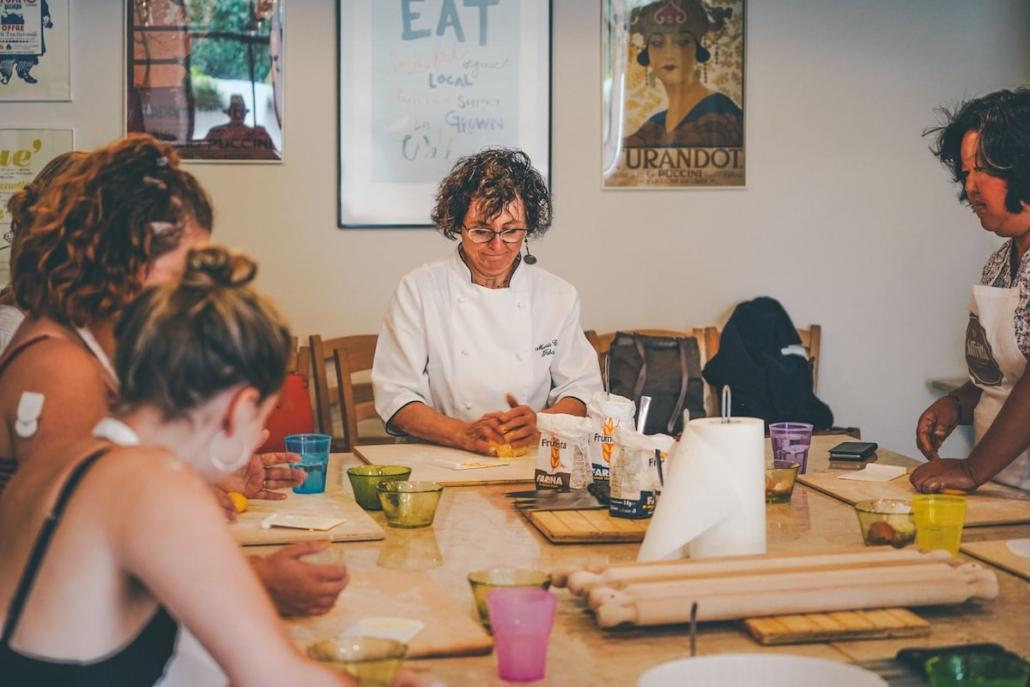 Lezione di cucina a Verona